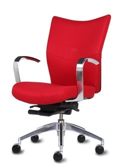 9 To 5 Bristol Managers Chair Shown In Red Leather Hundreds Of And Designer