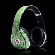Green beats headphones