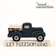 Patriotic Truck - The Wood Connection