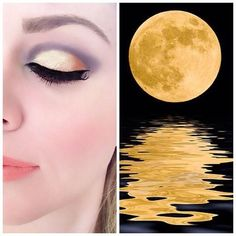 Gold - yellow eyeshadows - eyemakeup ideas