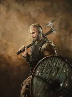 Ragnar Lothbrok by Nordheimer he was a real figure in History so I am justified.
