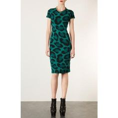 TOPSHOP BACK CUT OUT BODY-CON DRESS