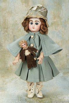 Неизвестный Анри Делакруа, Henri Delcroix / Другие винтажные антикварные куклы, реплики / Бэйбики. Куклы фото. Одежда для кукол