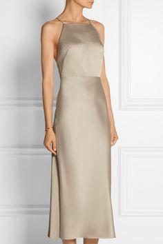 Jason Wu Satin-crepe dress NET-A-PORTER.COM