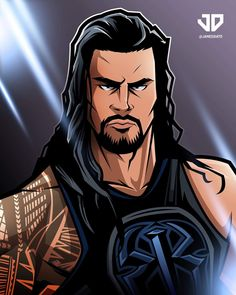 Roman Reigns everybody. Roman Reigns Drawing, Roman Reigns Logo, Roman Reigns Gif, Wrestling Superstars, Wrestling Wwe, Roman Empire Wwe, Nxt Divas, Total Divas, Wwe Logo