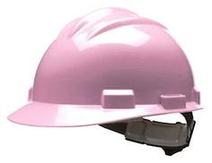 Pink Classic Series Hard Hat for Breast Cancer Awareness - Customize and Logo!