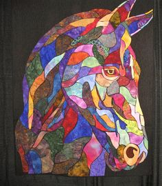 horse quilt   Is this the Shannon Sykes I know from Ft. B?