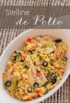 Stelline pasta with Chicken (Stelline de pollo) Dominican recipe with a twist...Hispanic recipes