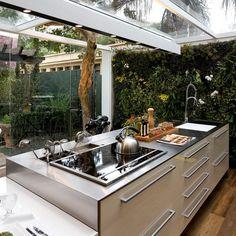 Cozinha do lado de fora? Almost...