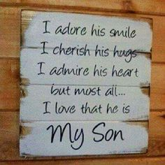 Simply true, love my boys xx pinned by pinkstoblues.com