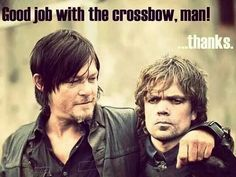 Love it, my two favorite shows. Game of Thrones and Walking Dead.