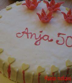 Maanan matkassa: 50-vuotissyntymäpäiväkakku
