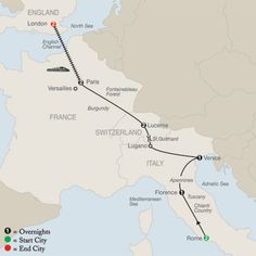 Essential Europe trip through Italy, Switzerland, France, & England....can't wait to visit in October!