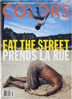 "cMag167 - Colors Magazine cover ""Eat the Street Issue"" / Tibor Kalman / Nº 5 / September 1993"