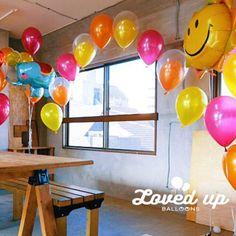 お得なバースデーバルーンデコレーションセット  プロが飾り付けにお伺いします♪ バルーンデコレーション専門サービス Loved up balloons
