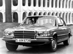 Mercedes-Benz S-class (W116 series) 1972-1980.