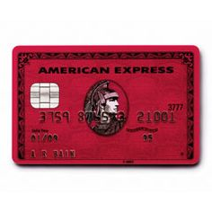 Product Red American Express
