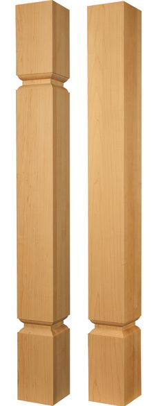 New: Square Island Posts Part Numbers 2424 And 2425 Http://www. Wood  Furniture LegsUnfinished ...