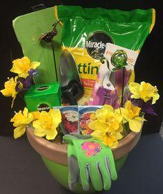 gardening raffle basket