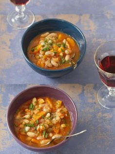 Soup minestrone cuisine Ideas for 2019 Greek Recipes, Soup Recipes, Greek Vegetables, Greek Cooking, Homemade Soup, Ravioli, International Recipes, Casserole Dishes, Soups And Stews