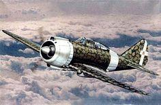 Ww2 Aircraft, Military Aircraft, Luftwaffe, Kingdom Of Italy, Italian Army, Aviation Art, World War Ii, Wwii, Air Force