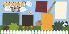 Backyard Play - Boy Page Kit