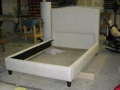 Upholstered bed frame