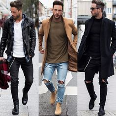 Whats your fav. look?! 1️⃣ | 2️⃣ | 3️⃣ Have a nice evening! #streetstyle