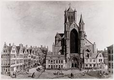 Gent: Korenmarkt en Sint-Niklaaskerk