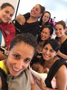 Group selfie! Photo source: Kangatraining with Soraya.