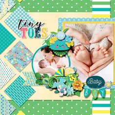 Baby boy: Welcome to the world! Scrapbook Blog, Digital Scrapbooking Layouts, Baby Scrapbook, Make A Wish, Fun To Be One, Real Unicorn, Boy Cards, Girls Boutique, Baby Boy Shower