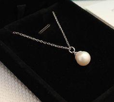 Mini Pearl pendant necklace 0 Women Fashion 2015