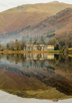 Grasmere symmetry by Pete Quinn Grasmere, Lake District National Park, Cumbria, England England Ireland, England And Scotland, Cumbria, Lake District, Beautiful World, Beautiful Places, British Countryside, British Isles, Beautiful Landscapes