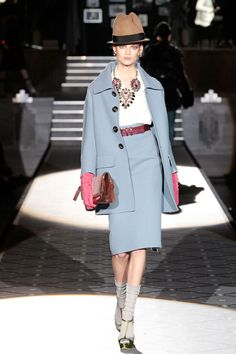 Fall Fashion 2013 Skirt Suit Dsquared