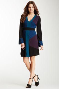 Colorblock Dress by Hale Bob on @HauteLook