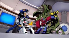 """Transformers Animated Autobots (from """"The Elite Guard"""")"""