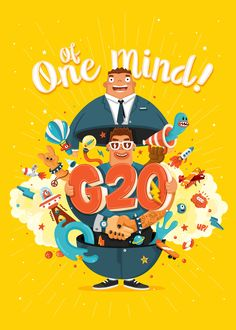 G20 - Of One Mind on Behance