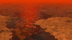 La atmósfera de la luna de Saturno 'respira' un enigmático gas