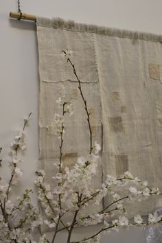 patchwork curtain/wallhanging __ from Cloth and Goods