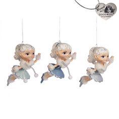 Goodwill juleornamenter!!!! Dekorer juletreet med disse nydelig håndlagede ornamentene fra belgiske Goodwill. Prisen er for 1 stk, skriv gjerne i kommentarfeltet om du vil ha en bestemt figur.