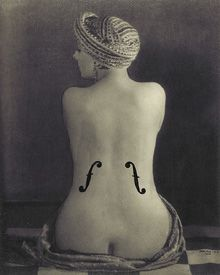 Man Ray - such a disturbing and compelling image