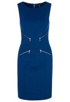 Vestito di maglina - blu