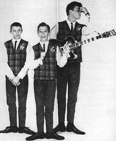 Maurice, Robin, and Barry Gibb