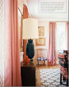 Dining Room By Angie Hranowsky Via Lonny Design Hotel House Home Interior