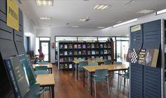 Sala de Adultos. Biblioteca Municipal de Figueiró dos Vinhos (Portugal).