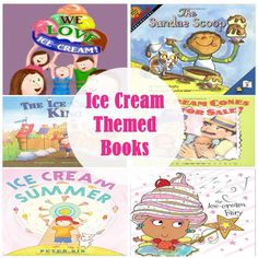 Ice Cream Themed Books for Kids - perfect for summer!