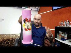 Luminária em PVC conclusão - YouTube