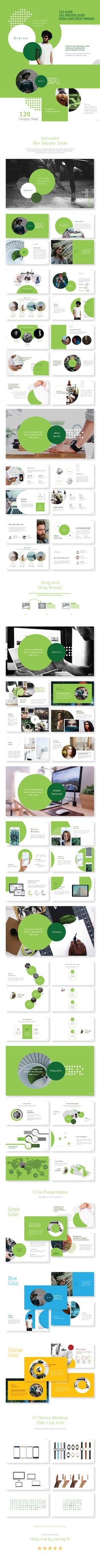 Orbital - Neue Minimalist Powerpoint Presentation - Business PowerPoint Templates