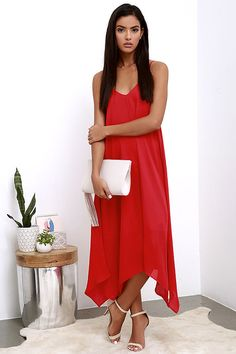 Your Love Red Midi Dress at Lulus.com!
