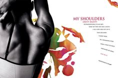 My shoulders...